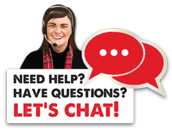 Need help? Have Questions? Let's chat!